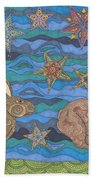 Year Of The Rabbit Beach Towel