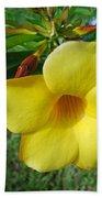 Yellow Beauty Beach Towel