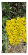 Yellow Bloom Beach Towel