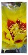 Yellow Blossom Beach Towel