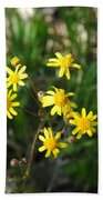 Yellow Bouquet On The Trail Beach Towel
