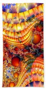 Yellow Brick Roads Beach Towel