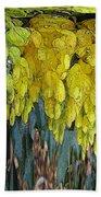 Yellow Buds Beach Towel