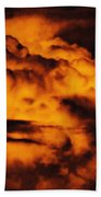 Clouds Time Beach Towel