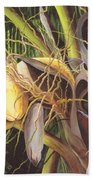Yellow Coconuts From The Tropics  Beach Towel