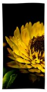 Yellow Flower 5 Beach Towel