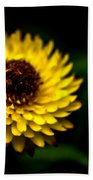 Yellow Flower 6 Beach Towel