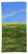 Yellow Hill Beach Towel
