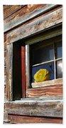 Yellow Rose Eclipse Beach Sheet