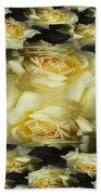 Yellow Roses 2 Beach Towel