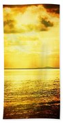 Yellow Sea Beach Towel