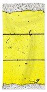 Yellow Stone Beach Towel