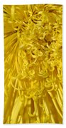 Yellow Strings Beach Towel