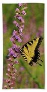 Yellow Tiger Beach Sheet