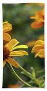 Yellow Wildflowers 3680 H_2 Beach Towel