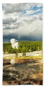 Yellowstone Colors #3 Beach Towel