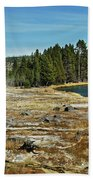 Yellowstone Hot Springs Beach Towel