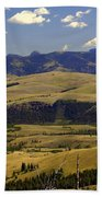 Yellowstone Landscape 2 Beach Towel