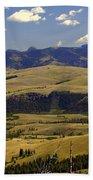 Yellowstone Landscape 2 Beach Sheet