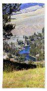 Yellowstone River Vista Beach Towel