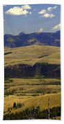 Yellowstone Vista 2 Beach Towel
