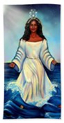 Yemaya- Mother Of All Orishas Beach Towel