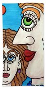 Yes, Mother... - Oui, Maman... Beach Towel