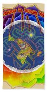 Yhwh Covers Earth Beach Towel