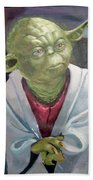 Yoda. Original Acrylic Beach Towel