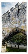 York City Roman Walls Beach Towel