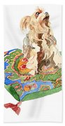 Yorkshire Terrier Beach Towel