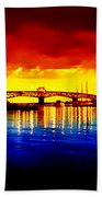 Yorktown Virgina Beach Towel