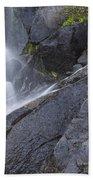 Yosemite Cascade Beach Towel