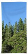 Yosemite Domes Beach Towel