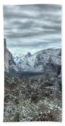 Yosemite National Park Tunnel View  Beach Towel