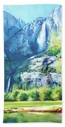 Yosemite Park Beach Towel