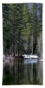 Yosemite Reflections Beach Towel