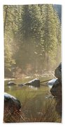 Yosemite Spring Beach Towel