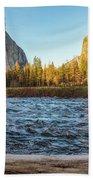 Yosemite Sunset Beach Towel