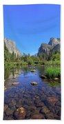Yosemite Valley, California Beach Towel