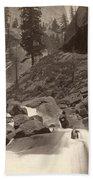 Yosemite: Vernal Fall Beach Towel