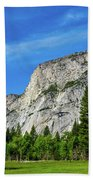 Yosemite West Valley Beach Towel