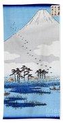 Yoshiwara Beach Towel