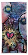 You Are Always In My Heart  Beach Towel
