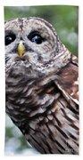 You Can Call Me Owl 2 Beach Towel