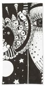 You Me The Stars And The Moon Beach Towel