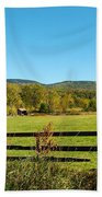 Young And Swain Road, Gilford N H Beach Towel