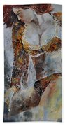 Young Girl 670508 Beach Towel