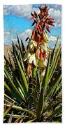 Yucca Bloom Beach Towel