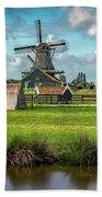 Zaanse Schans And Farm Beach Sheet